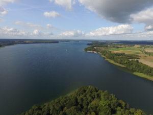 Jezioro Drawsko. Fot. Akademia Morska w Szczecinie