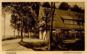 fot. 5 Obecny OSW na historycznej pocztówce z początku ub. wieku