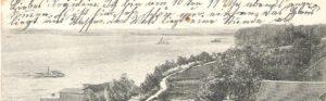 Fragment pocztówki z początku XX wieku - Tempelburg