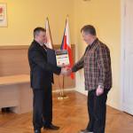 Wiesław Piotrowski otrzymuje Certyfikat