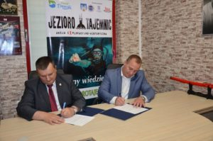 Podpisanie deklaracji w Intermarche Drawsko Pom