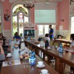 Uczestnicy spotkania podsumowującego misję Siemczyno