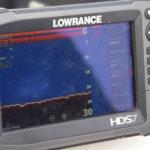 Obraz sonarowy dna Lubia