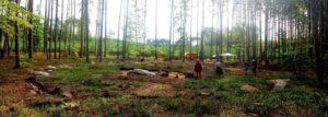 Stanowisko archeologiczne w Pławnie. Fot. Muzeum w Koszalinie