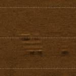 Zatoka Kluczewska. Obekt widoczny na zdjęciu sonarowym. Nie wyjaśniono czym jest ze względu na bardzo słabą widoczność