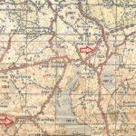 Fragment mapy z 1961 roku - elementy berlinki. Nadesłał Z. Januszaniec