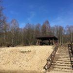 Wiata turystyczna w Zatoce Kluczewskiej
