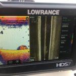 Obraz sonarowy. Coś jest na dnie