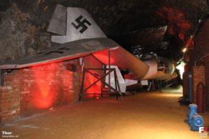 Makieta samolotu Arado w Kamiennej Górze przyciąga turystów. Źródło - Projekt Arado