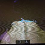 Obraz 3D dna zatoki Kluczewskiej