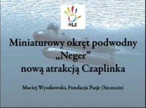 Pierwszy slajd prezentacji M. Wyszkowskiego z przykłądowym modelem