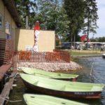 Restauracja nad wodą na terenie Drawturu