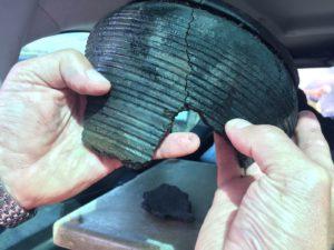 1 Skorupy wczesnośredniowieczne znalezione na Suliborzu