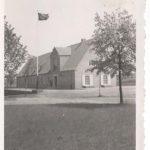 Bandera Kriegsmarine przed LO w Czaplinku