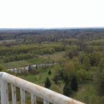 Daleko w okolicy horyzontu - jezioro Drawsko