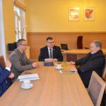 Spotkanie z Jerzym Hojdysem u Starosty Drawskiego Stanislawa Kuczynskiego