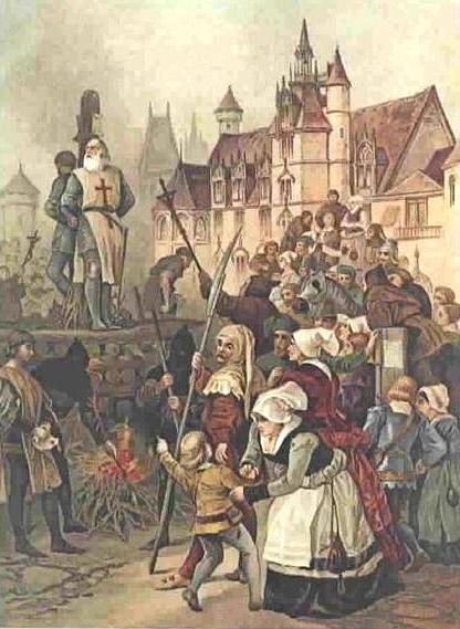 Egzekucja Jakuba Demolay