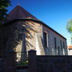 Czaplinek. Tzw. mały kościółek. W tym miejscu miał stać zamek Templariuszy - założycieli dawnego Tempelburga.