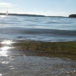 Ujęcie z plazy w Czaplinku